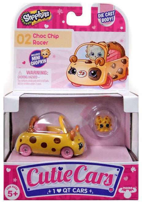 Shopkins Cutie Cars Choc Chip Racer Figure Pack #02