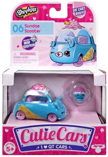 Shopkins Cutie Cars Sundae Scooter Figure Pack #06
