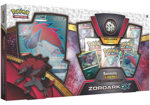 Pokemon Trading Card Game Shining Legends Zoroark-GX Special Collection [5 Booster Packs, Oversize Card, 2 Promo Cards & Coin]