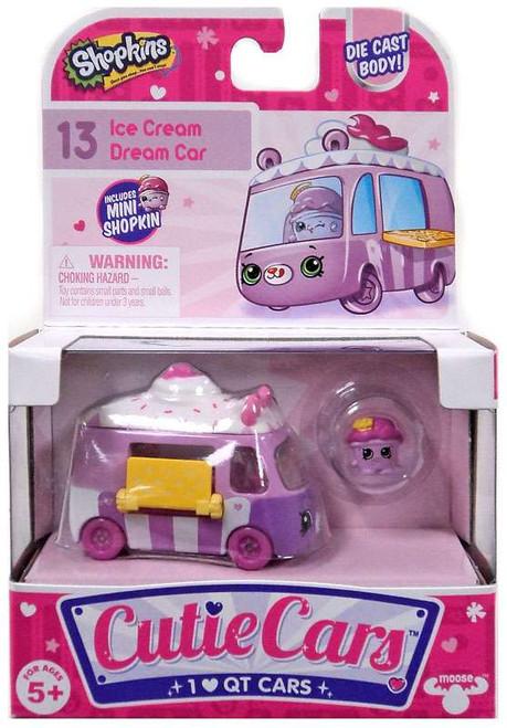 Shopkins Cutie Cars Ice Cream Dream Car Figure Pack #13