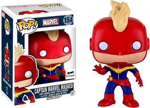 Funko POP! Marvel Captain Marvel Masked Exclusive Vinyl Bobble Head #148 [Damaged Package]