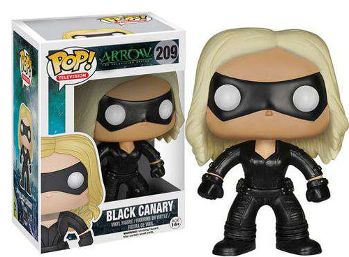 Funko DC Arrow POP! Heroes Black Canary Vinyl Figure #209 [Damaged Package]