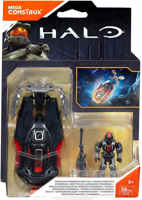 Halo Operation Stonebreak Drop Pod Set