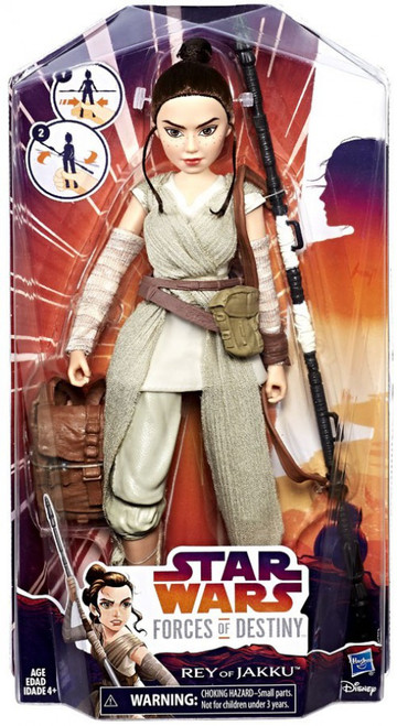 Star Wars Forces of Destiny Adventure Rey of Jakku Figure