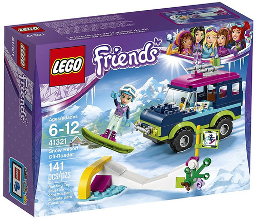 LEGO Friends Snow Resort Off-Roader Set #41321