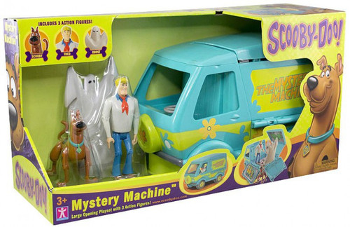 Scooby Doo Mystery Machine Playset [Fred, Scooby & Ghost Action Figures]