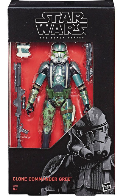 Star Wars The Clone Wars Black Series Clone Commander Gree Action Figure