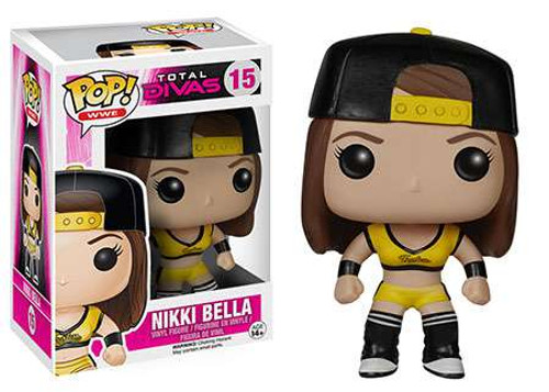 Funko WWE Wrestling POP! Sports Nikki Bella Vinyl Figure #15 [Total Divas, Damaged Package]