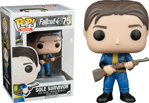 Funko Fallout 4 POP! Games Sole Survivor Vinyl Figure #75 [Damaged Package]