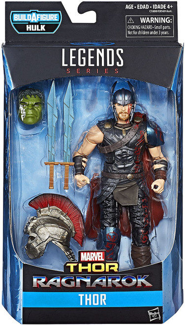 Thor: Ragnarok Marvel Legends Hulk Series Movie Thor Action Figure