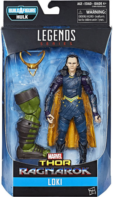 Thor: Ragnarok Marvel Legends Hulk Series Loki Action Figure