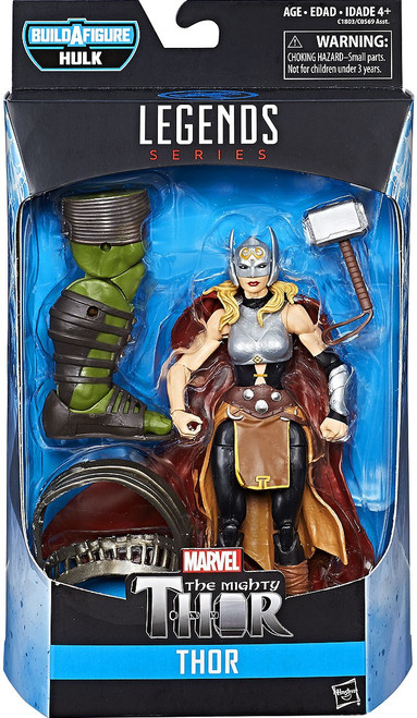 Thor: Ragnarok Marvel Legends Hulk Series Thor Action Figure [Jane Foster]