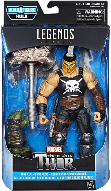 Thor: Ragnarok Marvel Legends Hulk Series Ares Action Figure [Nine Realms Warriors]