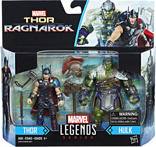 Thor: Ragnarok Marvel Legends Thor & Hulk Action Figure 2-Pack
