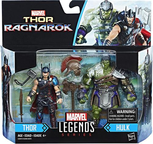 Thor: Ragnarok Marvel Legends Thor & Hulk Action Figure 2-Pack
