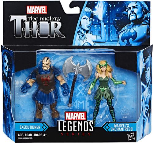 Thor: Ragnarok Marvel Legends Enchantress & Executioner Action Figure 2-Pack