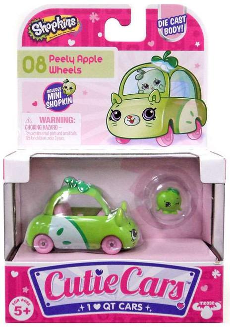 Shopkins Cutie Cars Peely Apple Wheels Figure Pack #08
