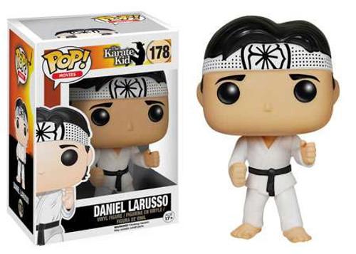 Funko The Karate Kid POP! Movies Daniel Larusso Vinyl Figure #178 [Damaged Package]