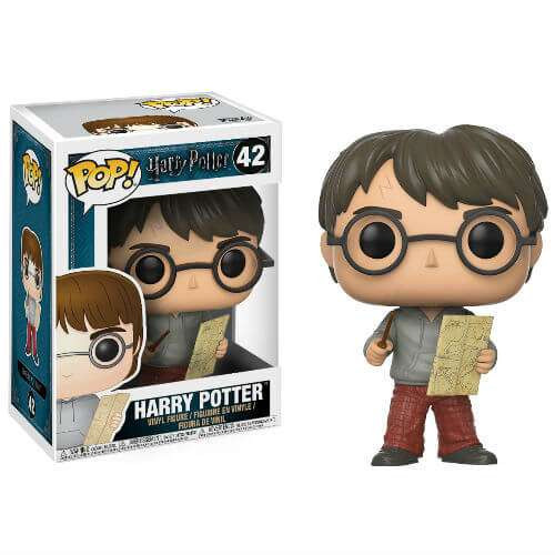 Funko POP! Movies Harry Potter Vinyl Figure #42 [Marauder Map]