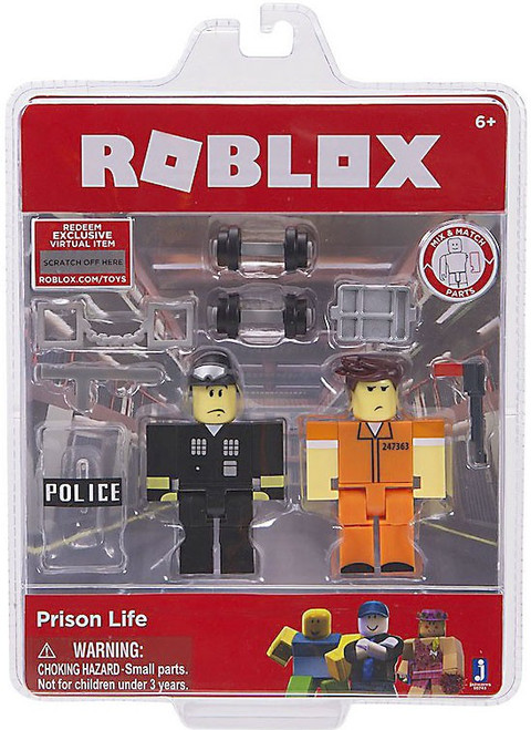 Roblox Prison Life Action Figure Game Pack