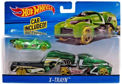 Hot Wheels X-Trayn Die-Cast Car [Green]