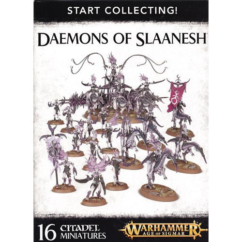 Warhammer Age of Sigmar Grand Alliance Chaos Daemons of