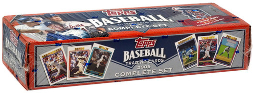 MLB Detroit Tigers 2005 Topps Baseball Cards Complete Set [Detroit Tigers]