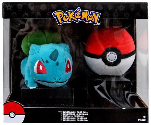 Pokemon Bulbasaur & Poke Ball 6-Inch Plush