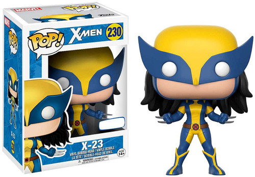 Funko X-Men POP! Marvel Wolverine / X-23 Exclusive Vinyl Bobble Head #230