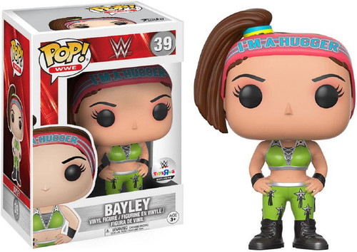 Funko WWE Wrestling POP! Sports Bayley Exclusive Vinyl Figure #39