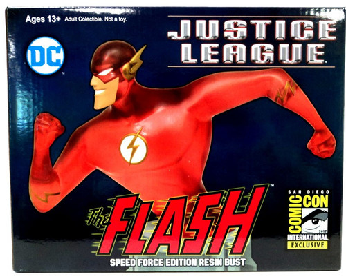 DC Justice League The Flash 6-Inch Bust [Speed Force Edition]