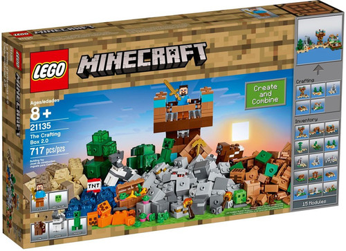 LEGO Minecraft The Crafting Box 2.0 Set #21135