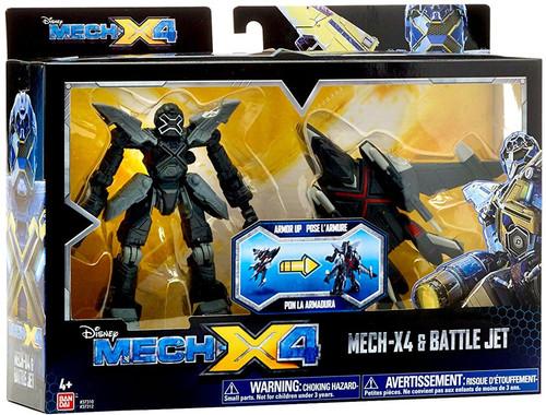 Disney Mech X4 Mech-X4 & Battle Jet Action Figure