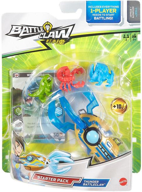 Thunder Battleclaw Starter Pack [Blue]