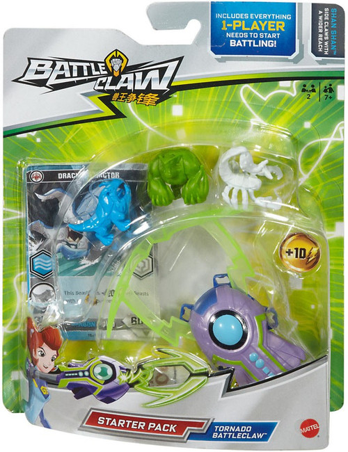Tornado Battleclaw Starter Pack [Green]