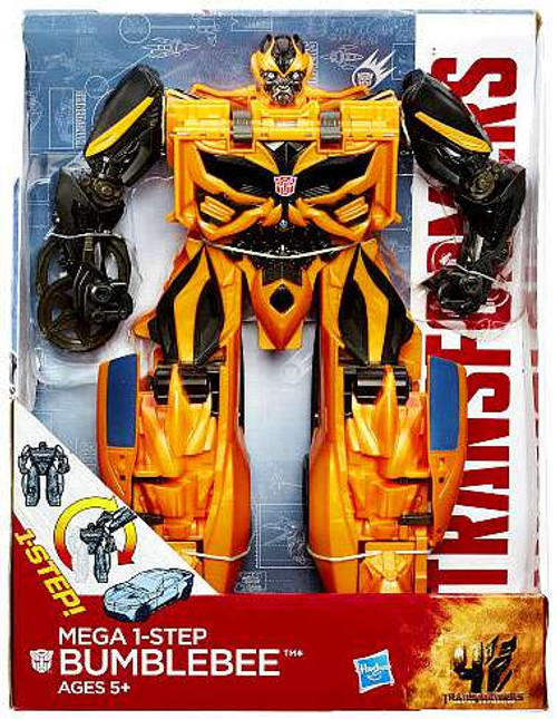 "Transformers Age of Extinction Mega 1-Step Bumblebee 10"" Action Figure [Damaged Package]"
