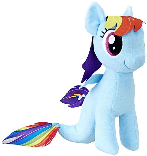 My Little Pony The Movie Soft Rainbow Dash Sea Pony 9.5-Inch Plush