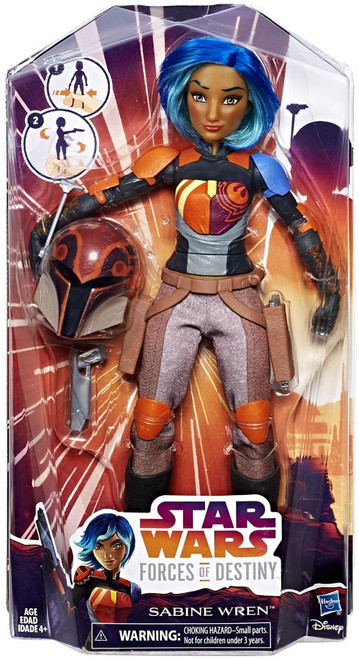 Star Wars Forces of Destiny Adventure Sabine Wren Figure