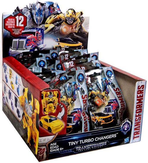 Transformers The Last Knight Tiny Turbo Changers Series 2 Mystery Box [24 Packs]