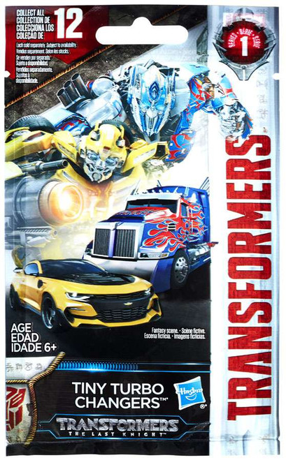 Transformers The Last Knight Tiny Turbo Changers Series 2 Mystery Pack