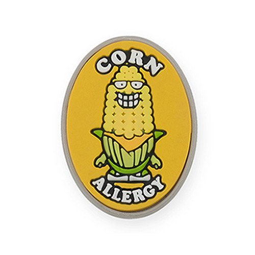 AllerMates Corn Allergy Alert Charm [Maizey]