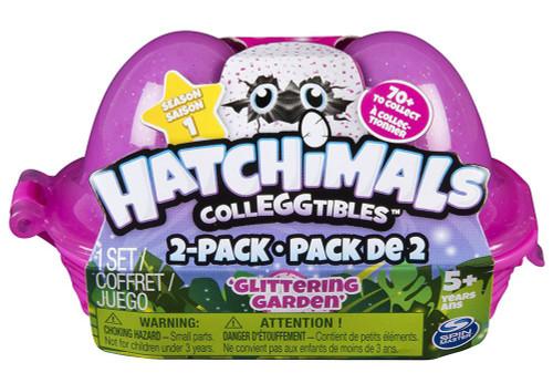 Hatchimals Colleggtibles Season 1 Glittering Garden Mystery 2-Pack [Egg Carton]