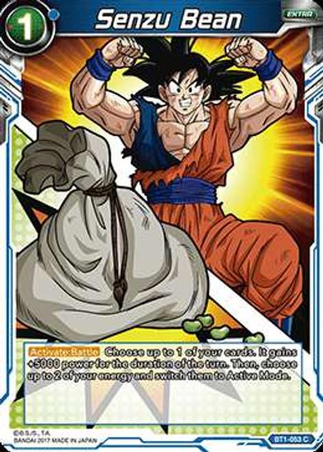 Dragon Ball Super Trading Card Game Galactic Battle Common Senzu Bean BT1-053