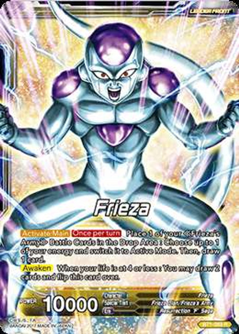 Dragon Ball Super Collectible Card Game Galactic Battle Rare Frieza BT1-083