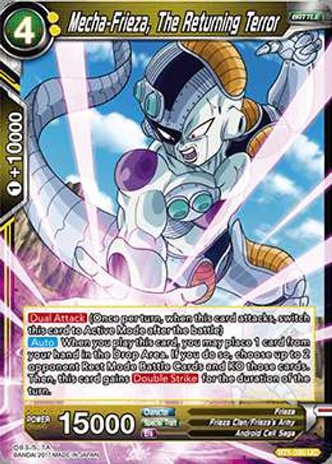 Dragon Ball Super Trading Card Game Galactic Battle Uncommon Mecha-Frieza, The Returning Terror BT1-090