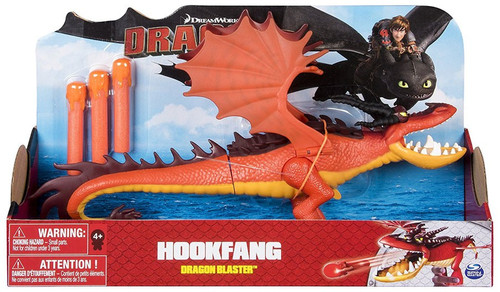 How to Train Your Dragon Dragons Dragon Blaster Hookfang Action Figure
