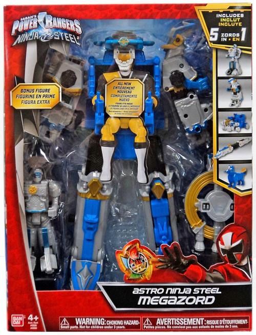 Power Rangers Deluxe Action Heroes Astro Ninja Steel Megazord Action Figure