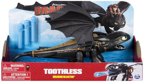 How to Train Your Dragon Dragons Dragon Blaster Toothless Action Figure