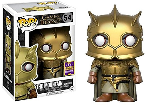Funko Game of Thrones POP! The Mountain Exclusive Vinyl Figure #54 [Armoured]