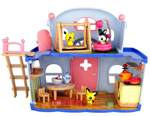 Pokemon Petite Pals House Party Playset